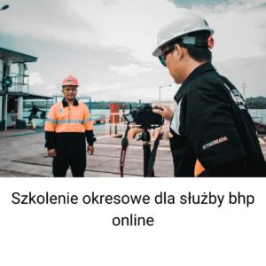 Szkolenie bhp dla osób pełniących zadania służby BHP online