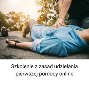 Szkolenie z zakresu prawidłowego udzielania pierwszej pomocy przedmedycznej online